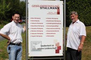 Maik Stallmann und Vater Udo