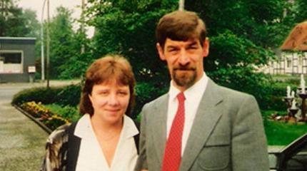 Udo Stallmann und seine Frau Wilhelmine
